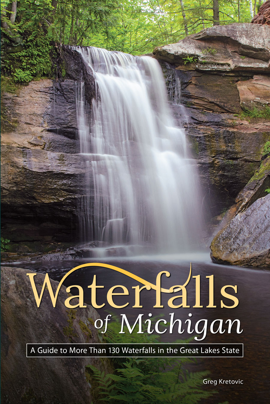waterfalls of michigan book