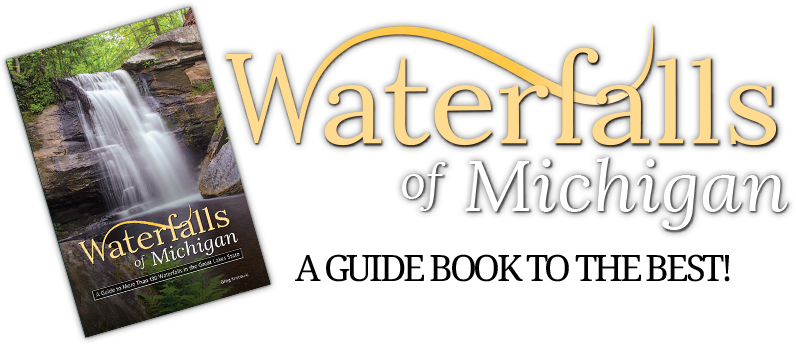 Waterfalls of Michigan guide book