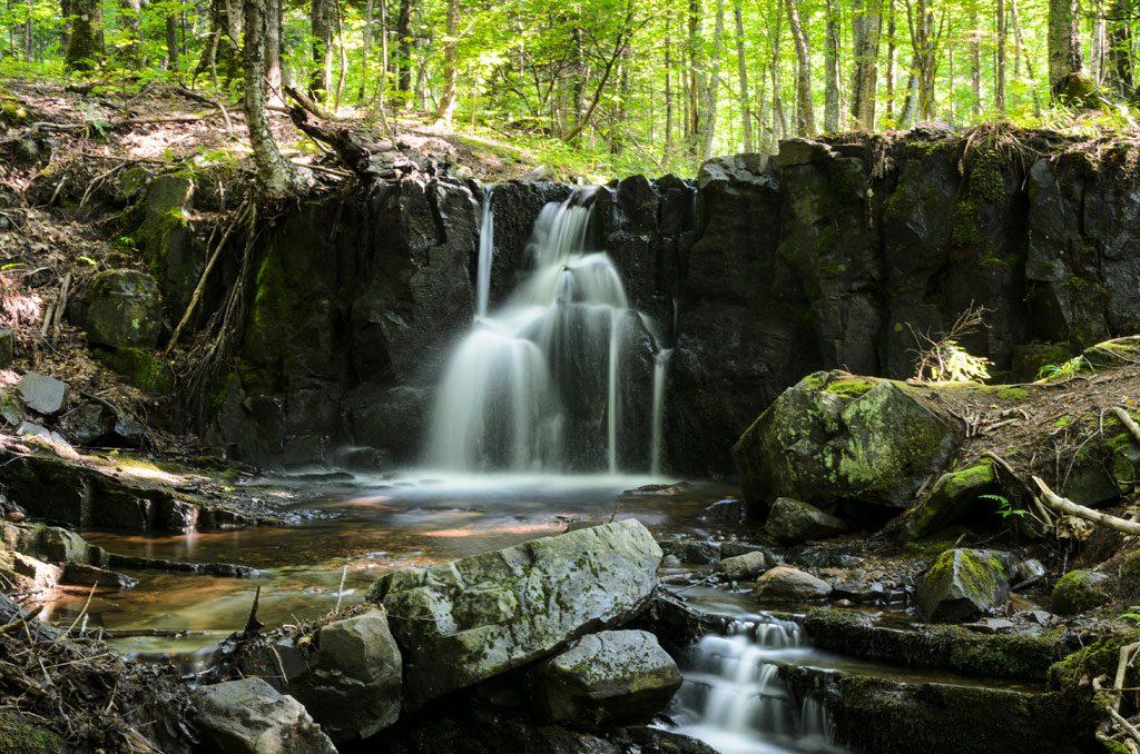 Ravine River Road Falls